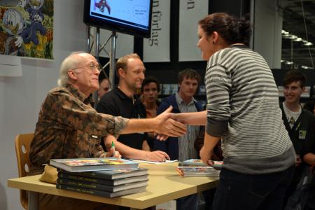 Don Rosa på bokmässan 2011