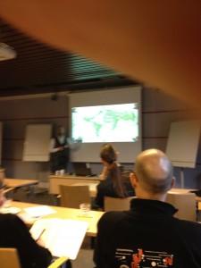 Fredrik Strömberg talar om svensk seriehistoria.