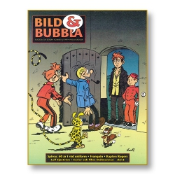 Bild & Bubbla nummer 144, det vill säga 1/1999, ett av de första numren när redaktionen hade flyttats ner till Malmö.