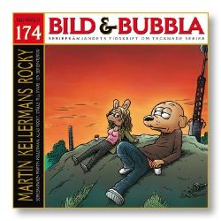 Bild & Bubbla nummer 174, det vill säga 1/2008, när nuvarande kvadratiska format etablerades, med bland annat en fast större bildsektion med mera.