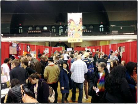 MoCCA Arts Festival är ett välbesökt evenemang i centrala New York.