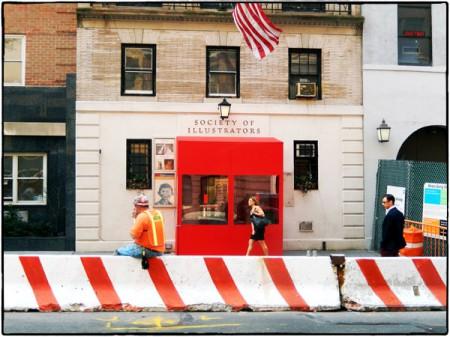 Society of Illustrators har en egen byggnad på Manhattan, med utställningslokaler.