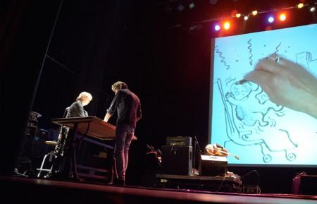 Anneli Furmark var utvald att som en av få utländska skapare, delta i den stora scenproduktionen Concert de dessin, där serietecknare skapar en serie tillsammans på scen, ackompanjerat av livemusik.