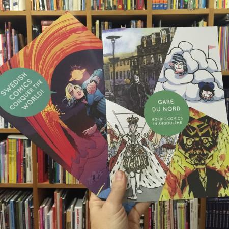 För projektet togs två helt nya kataloger fram, en om svenska serier och en om nordiska serier. Dessa var mycket populära och delades ut i stora mängder på festivalen.