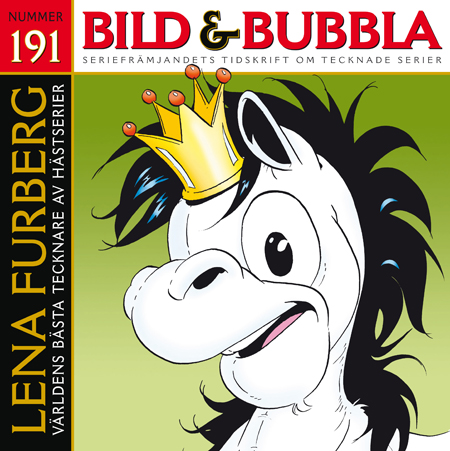 Bild & Bubbla nr. 191 med Lena Furbergs Mulle på omslaget