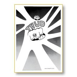 Thud nummer ett, det allra första numret av tidskriften som idag heter Bild & Bubbla.